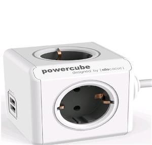 allocacoc PowerCube Extended USB Power Strip 3M